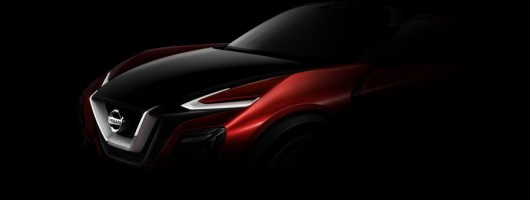 Nissan teases a sporty crossover. Image by Nissan.