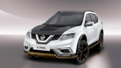 2016 Nissan X-Trail and Qashqai Premium concepts. Image by Nissan.