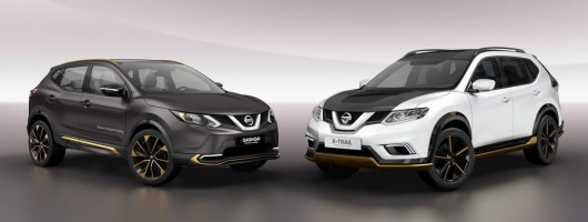 Nissan crossover models get premium makeover. Image by Nissan.