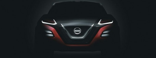 Nissan gets to Gripz with the Frankfurt show. Image by Nissan.