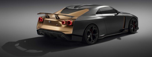 Italdesign sexes up the Nissan GT-R. Image by Nissan.