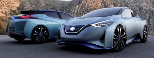 Nissan IDS Concept possesses artificial intelligence. Image by Nissan.