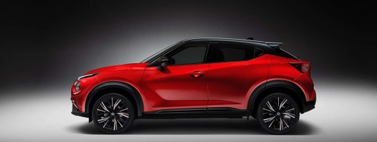 Nissan whips covers off all-new Juke. Image by Nissan.