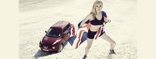 Nissan Juke marketing gets raunchy. Image by Nissan.
