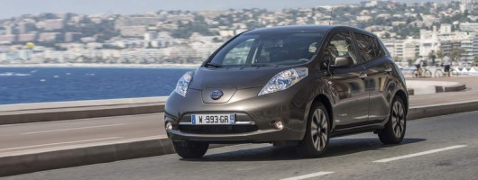 Nissan makes its Leaf go further in 2016. Image by Nissan.