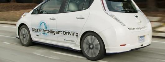 Renault-Nissan announces autonomous tech programme. Image by Nissan.
