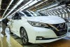 2018 Nissan Leaf production. Image by Nissan.