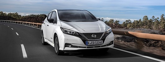Driven: Nissan Leaf. Image by Nissan.