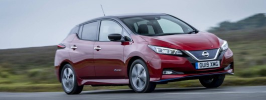 First drive: Nissan Leaf e+. Image by Nissan.