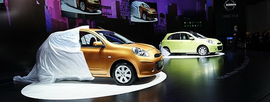 Geneva: All-new Nissan Micra. Image by Newspress.