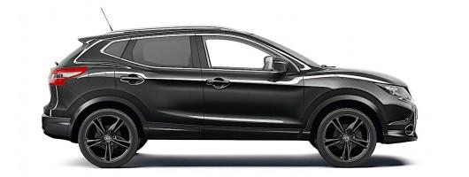 Nissan Qashqai Black Edition. Image by Nissan.