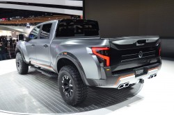 2016 Nissan Titan Warrior concept. Image by Newspress.
