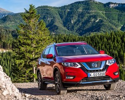 Facelifted Nissan X-Trail SUV. Image by Nissan.