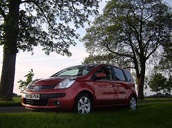 2006 Nissan Note. Image by James Jenkins.