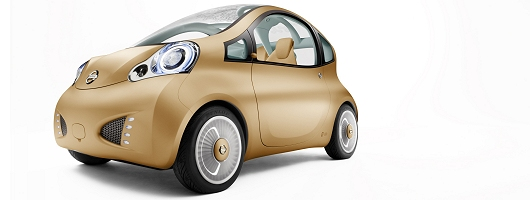 Nissan takes a Nuvu of the city car. Image by Nissan.