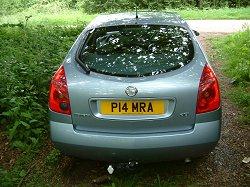 2004 Nissan Primera. Image by Shane O' Donoghue.