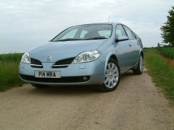2004 Nissan Primera 2.2 dCi review. Image by Shane O' Donoghue.