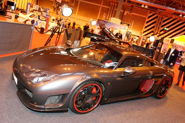 Noble presents M600 at Autosport Show. Image by Syd Wall.