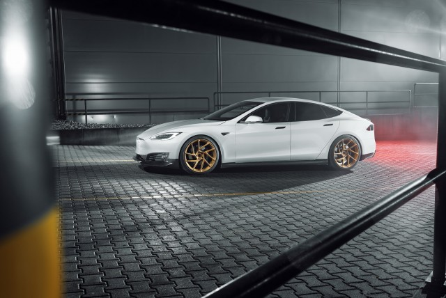 Novitec offers upgrades for Tesla Model S. Image by Novitec.