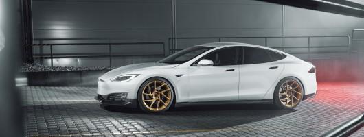 Novitec offers upgrades for Tesla Model S. Image by Novitec.