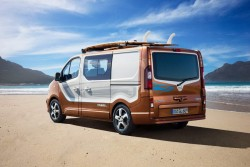 2015 Opel Vivaro Surf concept. Image by Opel.