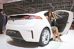 2009 Opel Ampera concept. Image by United Pictures.