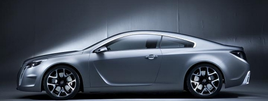 Opel badge adorns new style concept. Image by Opel.