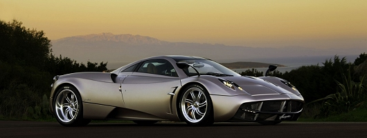 Stunning new Pagani supercar unveiled. Image by Pagani.
