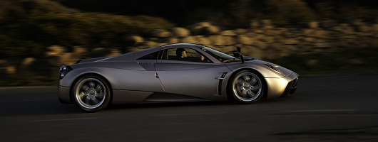 Supercar delivery driver wanted! Image by Pagani.
