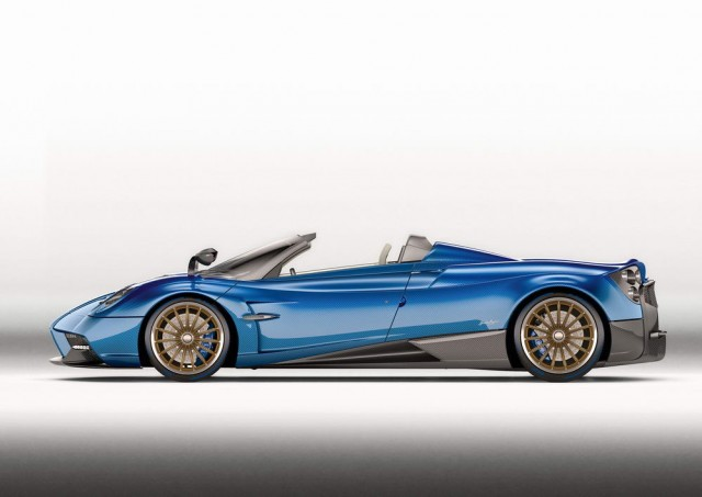 Pagani Huayra Roadster is out. Image by Pagani.