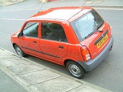 2003 Perodua Kelisa. Image by Shane O' Donoghue.