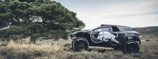 Peugeot updates its 2008 Dakar racer. Image by Peugeot.