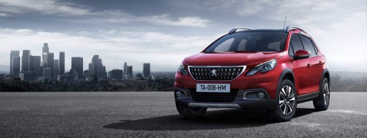 Midlife facelift revealed for Peugeot 2008. Image by Peugeot.