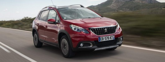 First drive: Peugeot 2008 GT Line. Image by Peugeot.