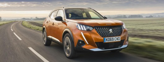 First UK drive: Peugeot 2008 GT-Line. Image by Peugeot UK.