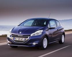 Impressive new Pug 208. Image by Peugeot.