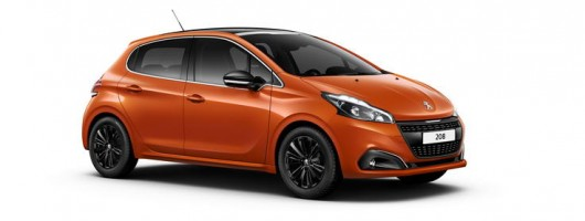 Peugeot 208 gets new look and sharper GTi. Image by Peugeot.