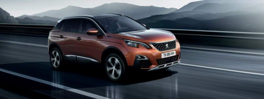 Clean slate design for Peugeot's new 3008. Image by Peugeot.