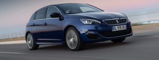 First drive: Peugeot 308 GT. Image by Peugeot.