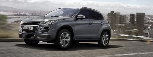 Attractive Peugeot 4008 not for UK. Image by Peugeot.