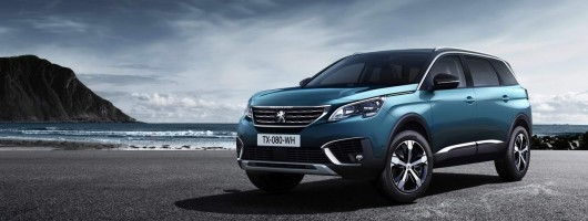 Peugeot's 5008 becomes an SUV. Image by Peugeot.