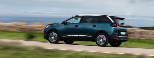First drive: Peugeot 5008. Image by Peugeot.