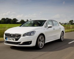 Incoming: Peugeot 508. Image by Peugeot.