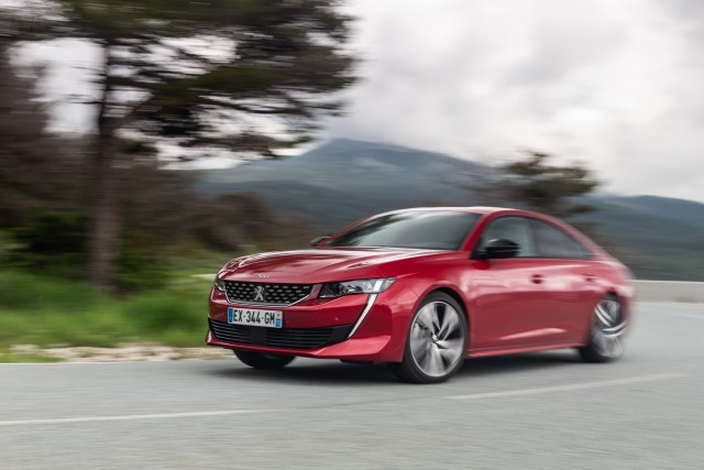 First drive: Peugeot 508 GT. Image by Peugeot.