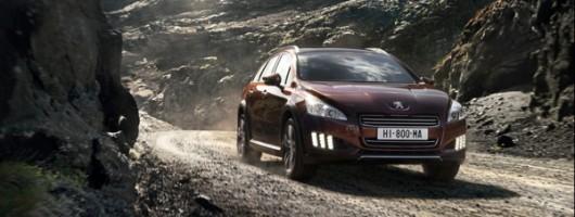 Peugeot unveils 508 RXH. Image by Peugeot.