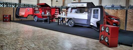 Peugeot's gastric genius packed into van. Image by Peugeot.