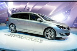2014 Peugeot at Geneva. Image by Newspress.