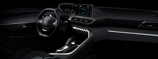 Peugeot takes interiors to the next generation. Image by Peugeot.