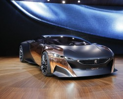 2012 Paris Motor Show. Image by Newspress.
