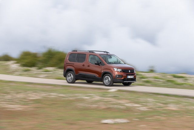 First drive: Peugeot Rifter. Image by Peugeot.